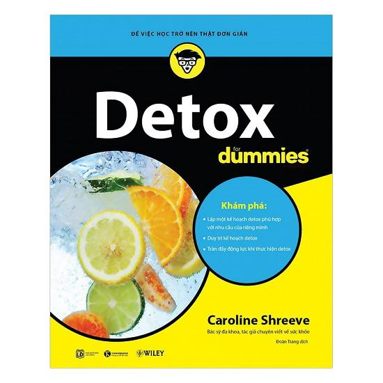 Mua Sách - Detox For Dummies