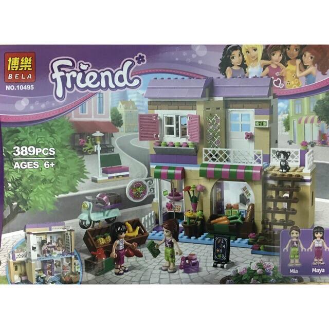 Lắp ráp Lego Friends 10495