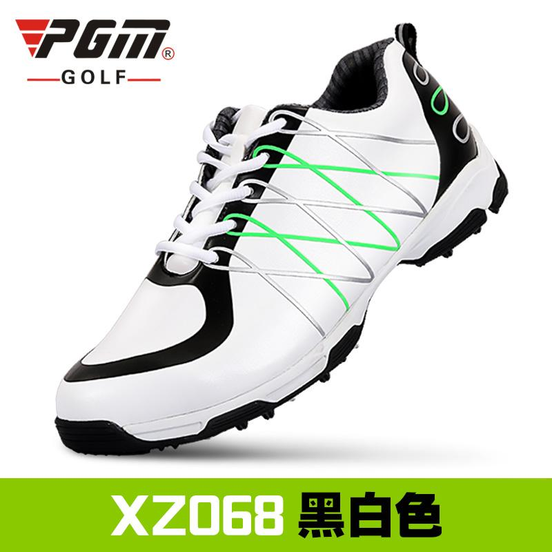 b523e7da280 New Style pgm golf Sneakers Men s Leather Anti-Sideslip Patented Waterproof Sports  Shoe