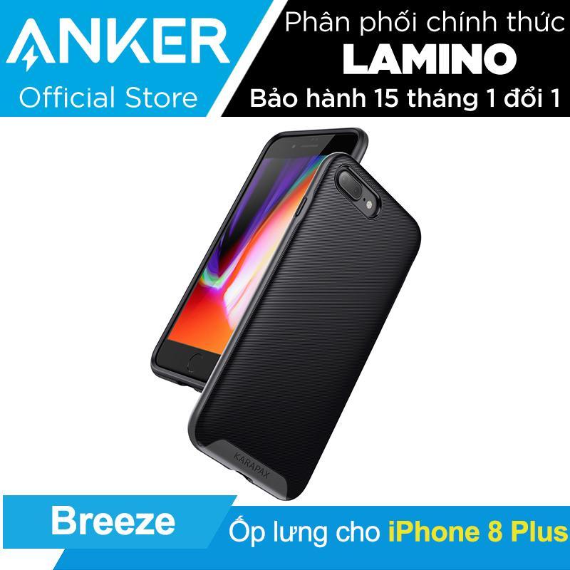 Ốp Lưng Cao Cấp Anker Karapax Breeze Cho Iphone 7 Plus 8 Plus Đen Hang Phan Phối Chinh Thức Trong Hồ Chí Minh