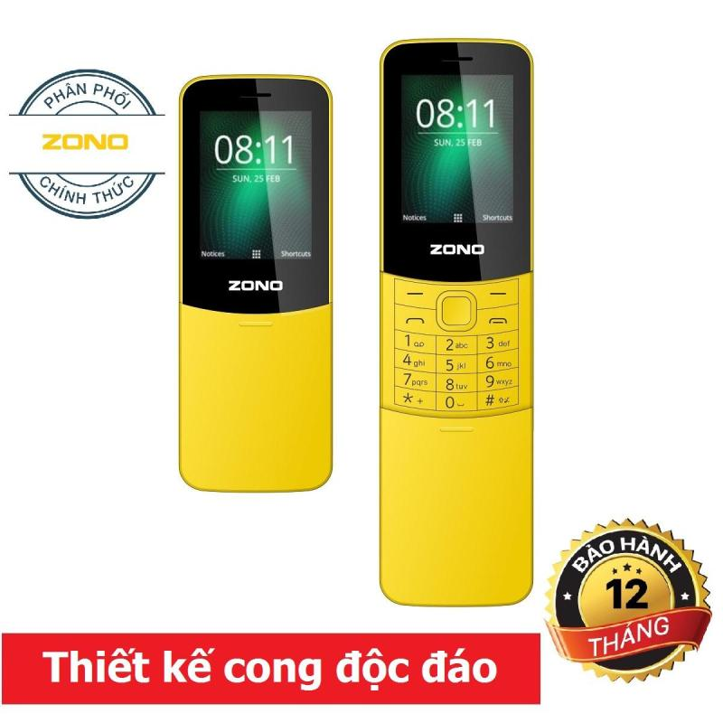 Điện thoại di động ZONO N8110 (2.4 inch) 2 Sim - Vàng