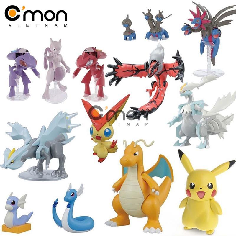 Hình ảnh Bộ 144 tượng thú Pokemon GO C'MON TOYS