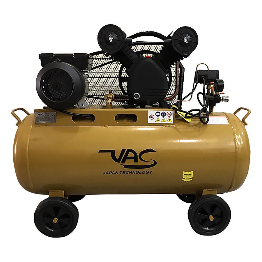 Máy nén khí hai đầu bơm VA-V-100C - 100L - 3HP, VAC