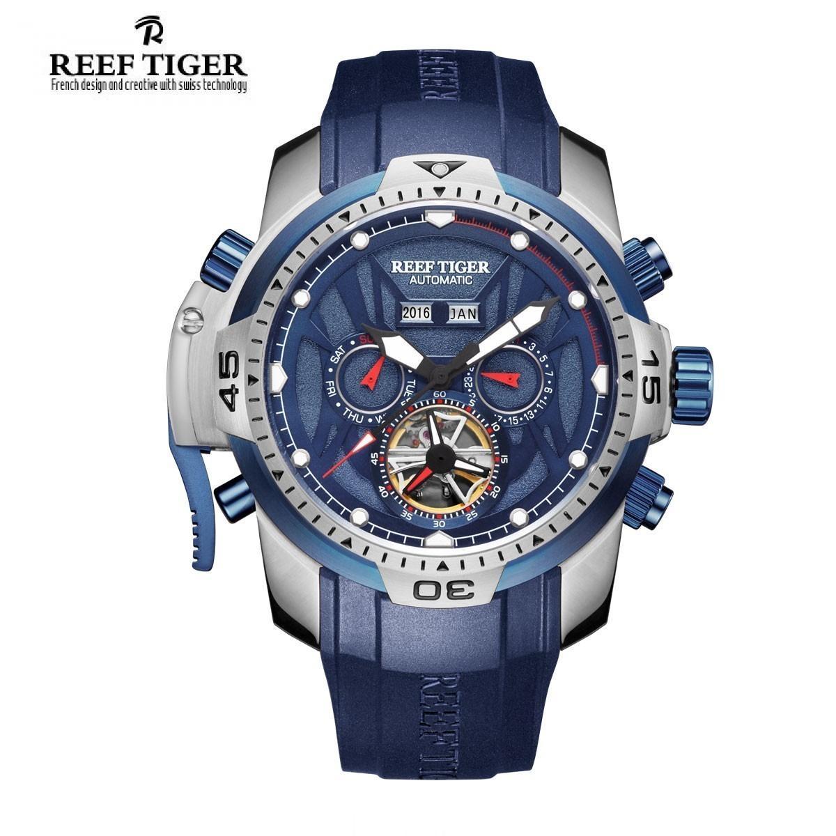 Đồng Hồ Nam Reef Tiger RGA3532 YLBR