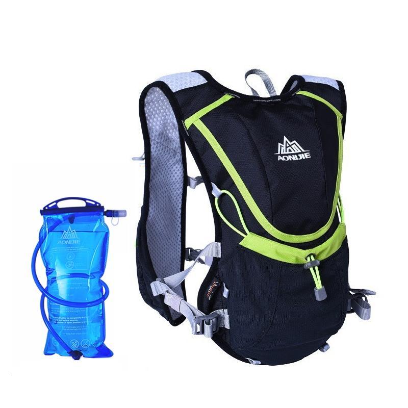 18ffa04601 YANYI Professional Outdoors Marathoner Running Race Hydration Vest  Hydration Pack Backpack+2L Water Bag Blue