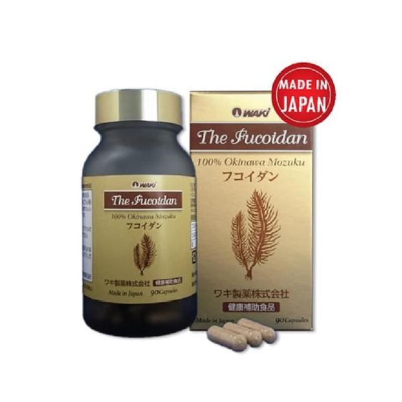 Viên uống hỗ trợ phòng ngừa ung thư, tăng cường hệ miễn dịch The Fucoidan nhập khẩu