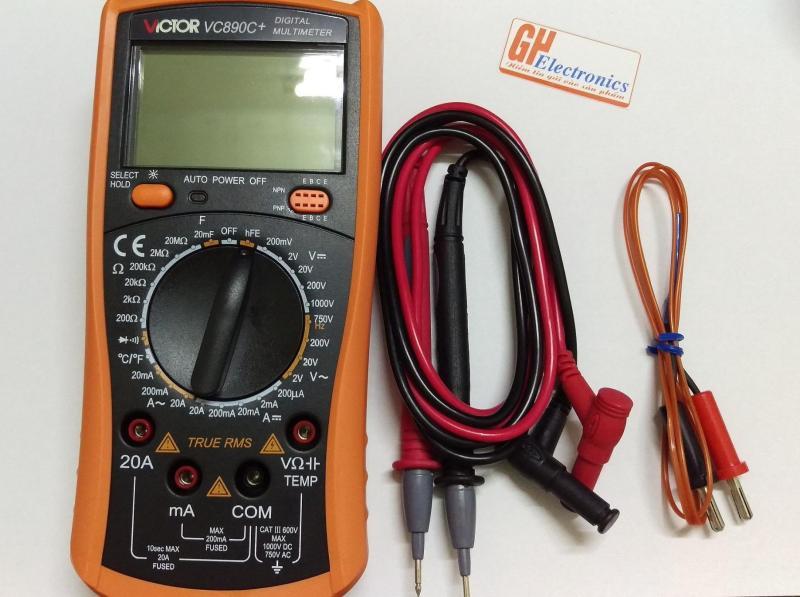 Đồng hồ vạn năng điện tử VICTOR  VC890D