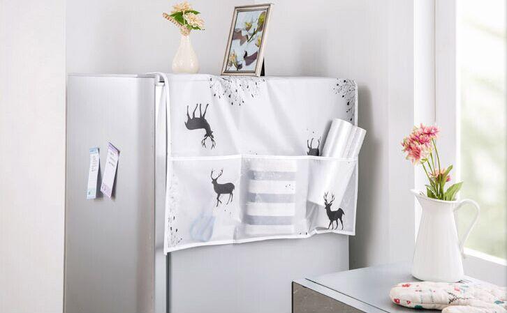 Hình ảnh Tấm Phủ Tủ Lạnh Chống Bụi Đa Năng mẫu mới