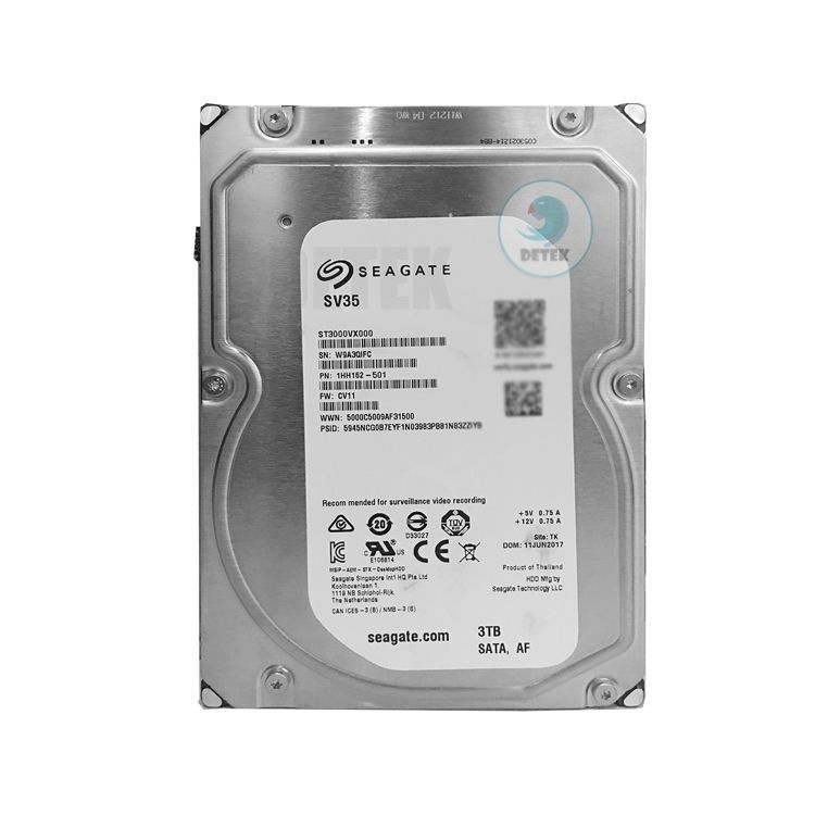 Ổ cứng HDD 3Tb Western Seagate chuyên Camera 1