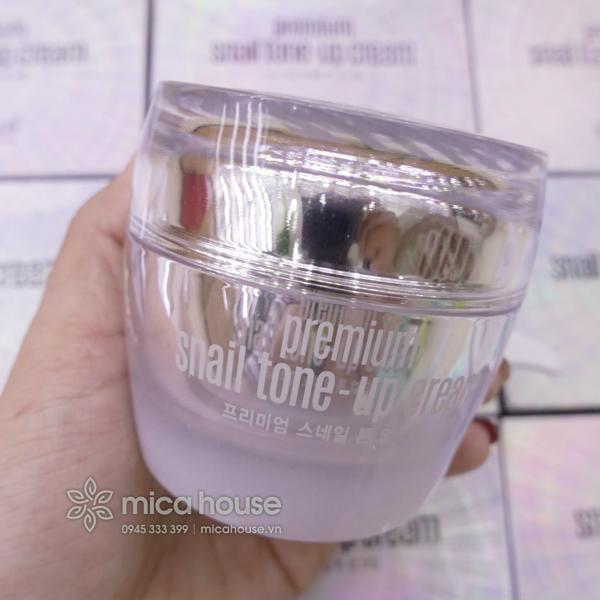 Hình ảnh Kem Dưỡng Trắng Da Goodal Premium Snail Tone Up Cream 50ml