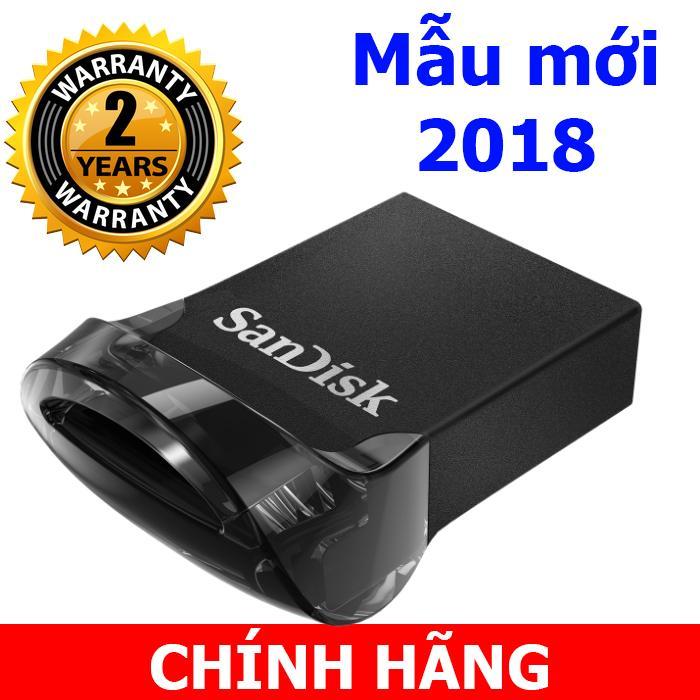 USB 3.1 Sandisk Ultra Fit Cz43 - 16GB tốc độ 130MB/s
