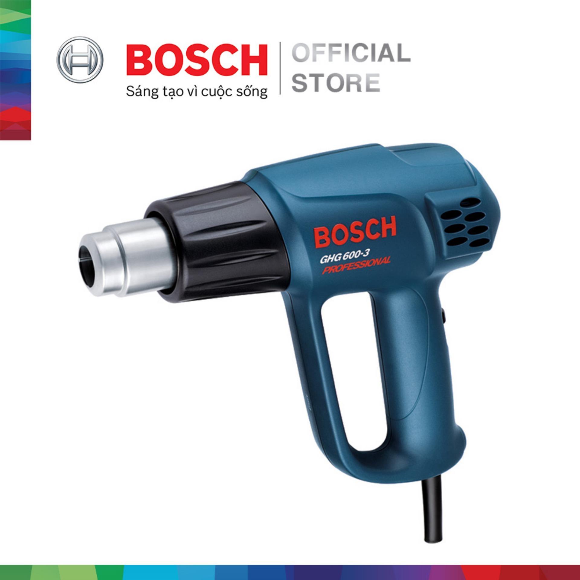 [Nhập BOSCH5 giảm 5%] Máy thổi hơi nóng Bosch GHG 600-3