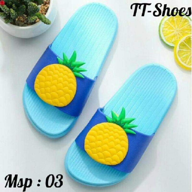 Dép Trái cây Hot Cho Nữ Có 2 Màu (Đỏ Xanh ) TT-Shoes