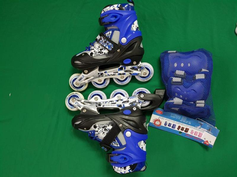 Phân phối giầy trượt PATIN LONG-FENG (cao cấp ) tặng kèm bộ bảo hiểm bánh phát sáng