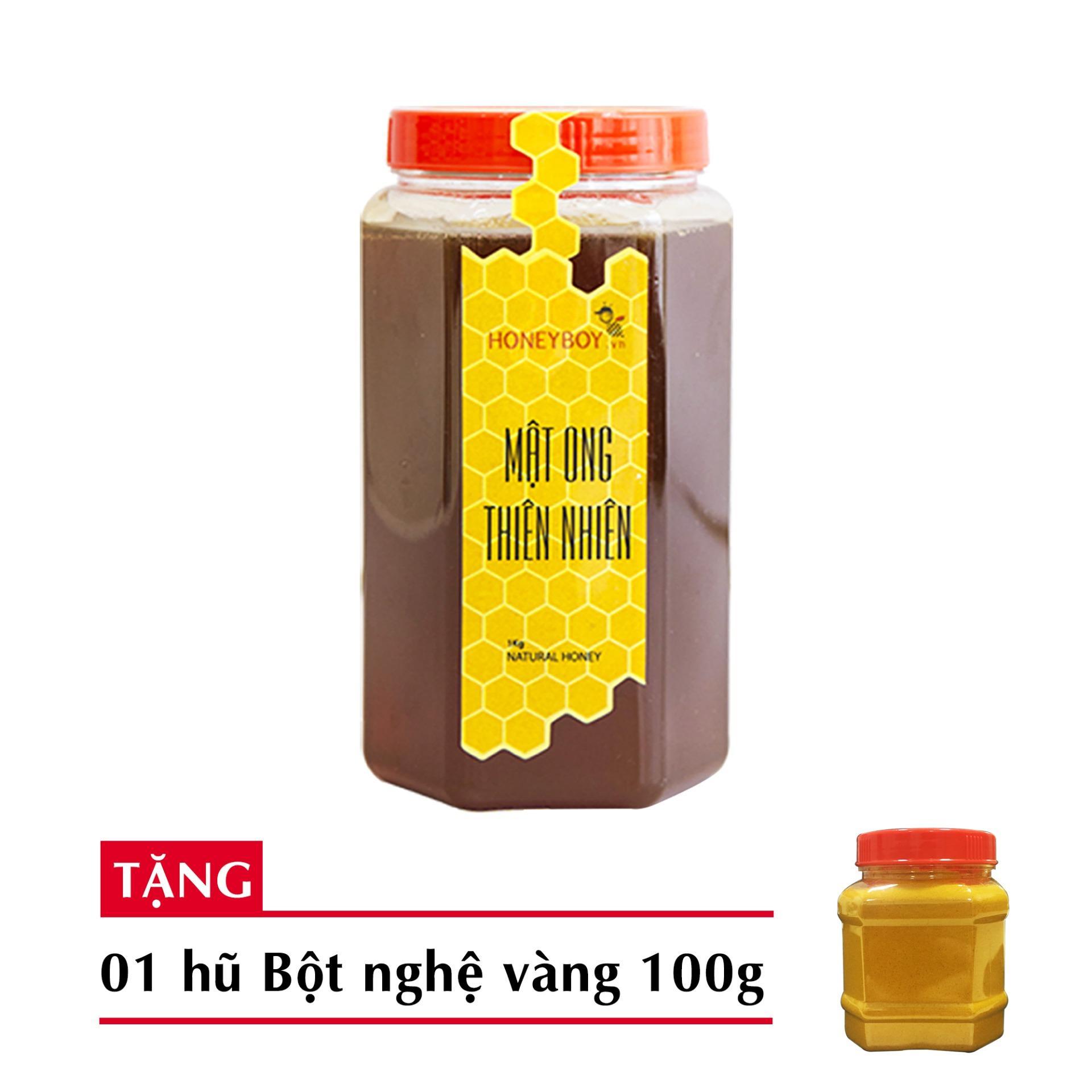 Mua Mật Ong Thien Nhien Honeyboy 1Kg Tặng 1 Hũ Bột Nghệ Vang Nguyen Chất 100G Hồ Chí Minh