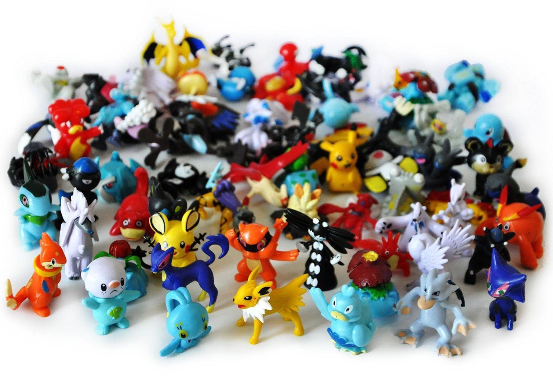 Hình ảnh Bộ 24 Con Tượng Thú Mini Pokemon Go
