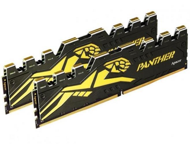 Hình ảnh Ram DDR4 Apacer Panther 4G/2400 Tản Nhiệt