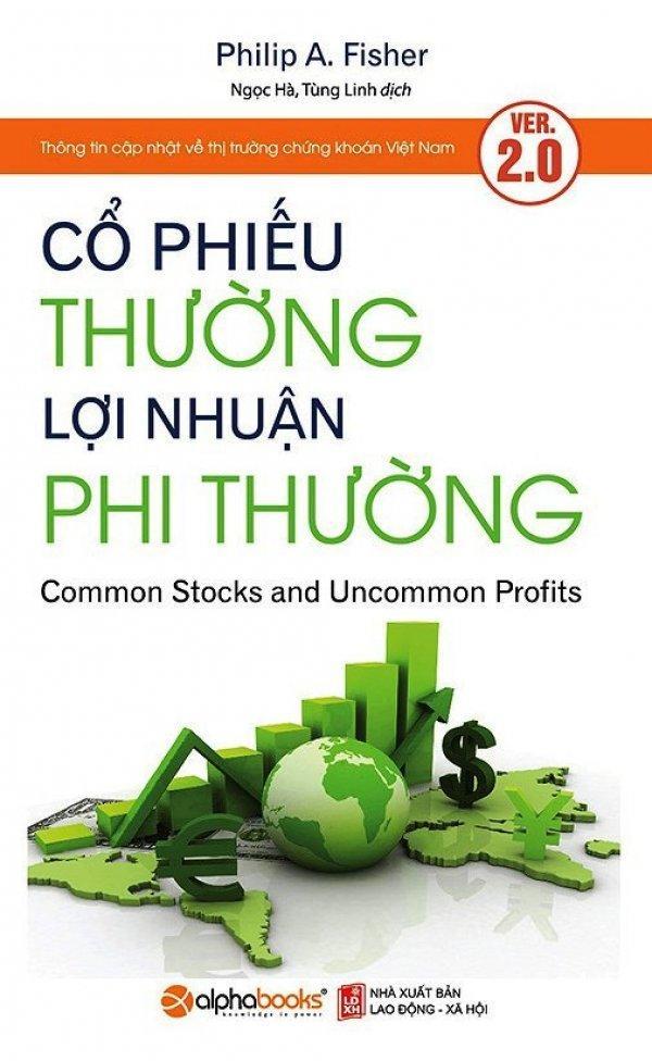 Mua Cổ Phiếu Thường Lợi Nhuận Phi Thường Tai Bản 12 2017 Philip A Fisher Tung Linh Ngọc Ha Alphabooks