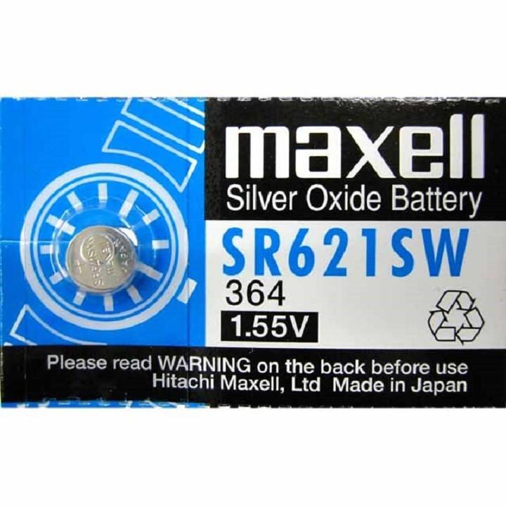 Giá Bán Pin Đồng Hồ Sr621Sw 364 Maxell Vỉ 5 Vien