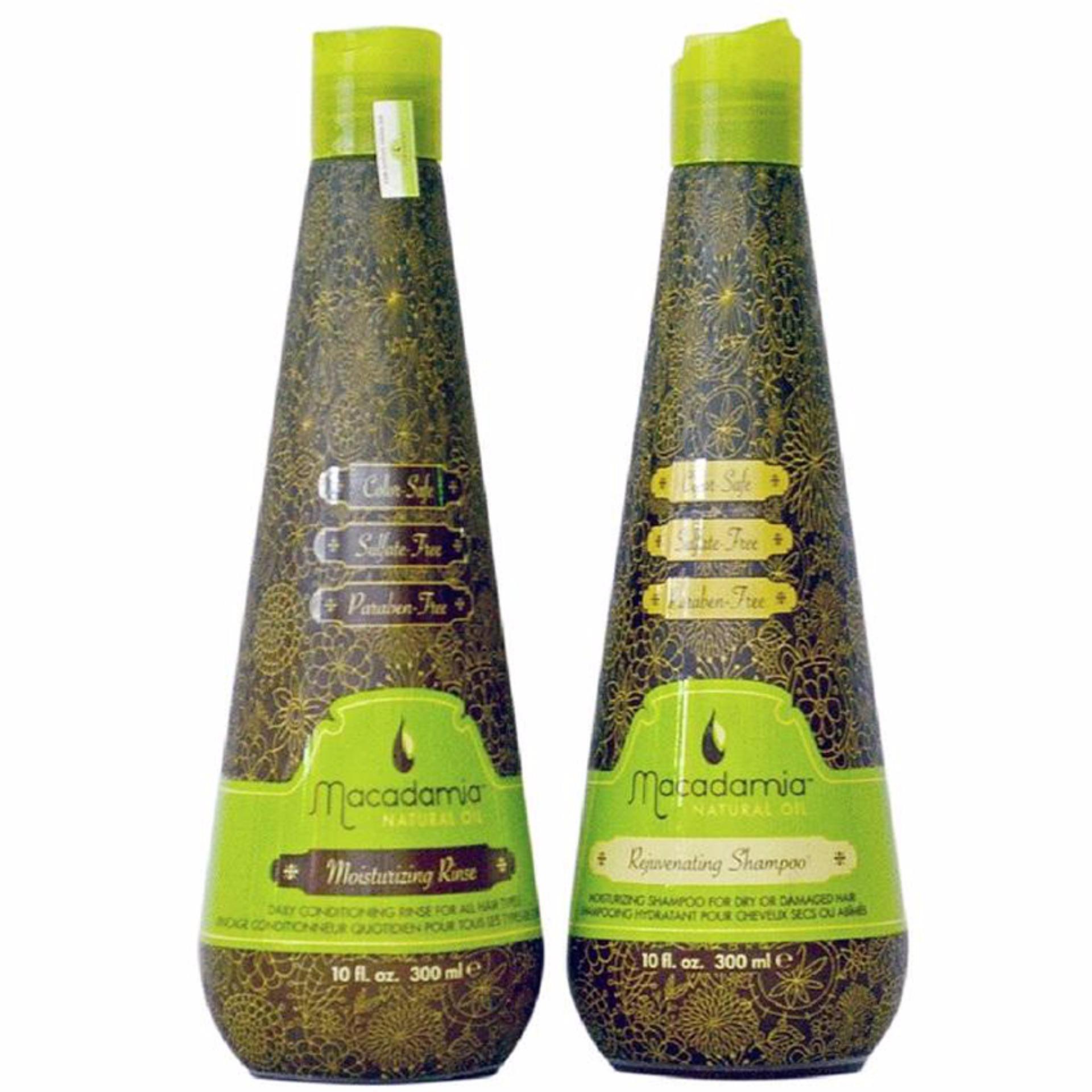Hình ảnh Cặp dầu gội/xả Macadamia siêu dưỡng ẩm trẻ hóa tóc 1000ml (1 gội + 1 xả)