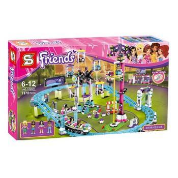Xếp hình lego friends in Amusement Park Roller Coaster