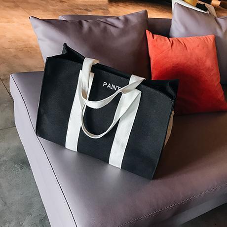 New Arrival Bag Female 2018 New Style Fashion Large Capacity Canvas Bag Korean Style Versatile Hand Crossbody Bag Tote Bag