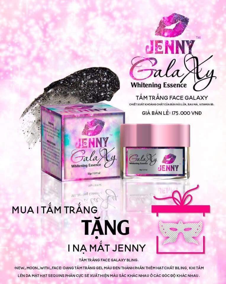 Tắm Trắng Face Galaxy Bling Dành Cho Mặt Jenny