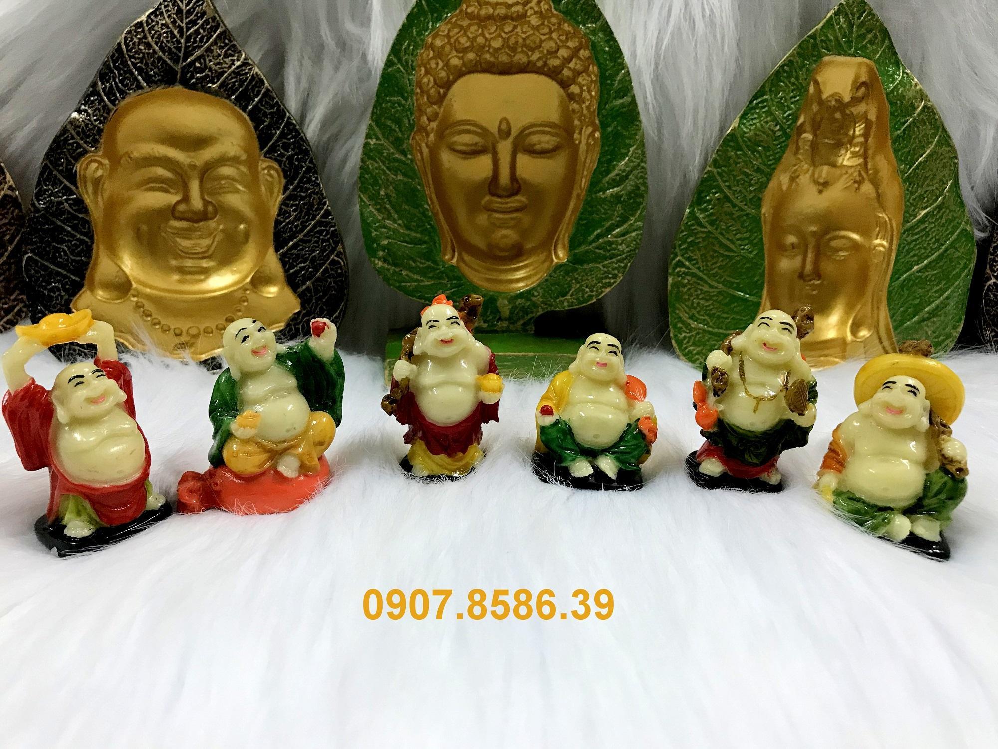 Mua Bộ 6 tượng Phật Di Lặc Hoan Hỉ Tài Lộc