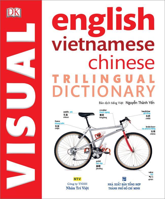 Mua Visual English Vietnamese Chinese Trilingual Dictionary