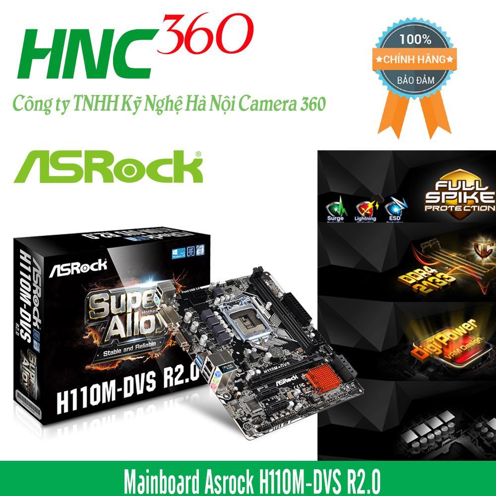 Hình ảnh Mainboard Asrock H110M-DVS R3.0
