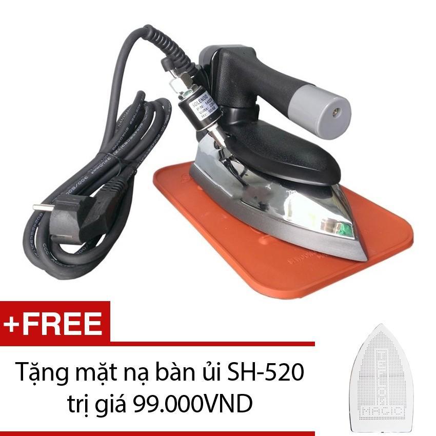 Hình ảnh Bàn ủi hơi nước công nghiệp Korea Penlican Pen 520 + Tặng mặt nạ bàn ủi SH-520