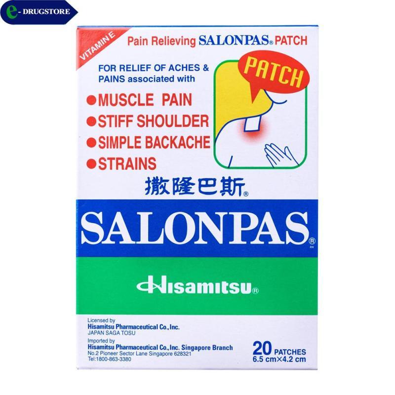 Salonpas dán giảm đau( Hộp 2 bao x 10 miếng) tốt nhất