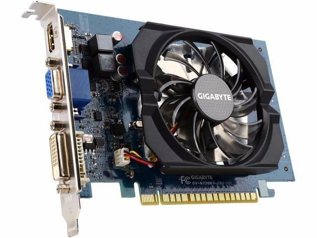 Hình ảnh VGA Card màn hình Gigabyte GT730 2G DDR5 64BIT