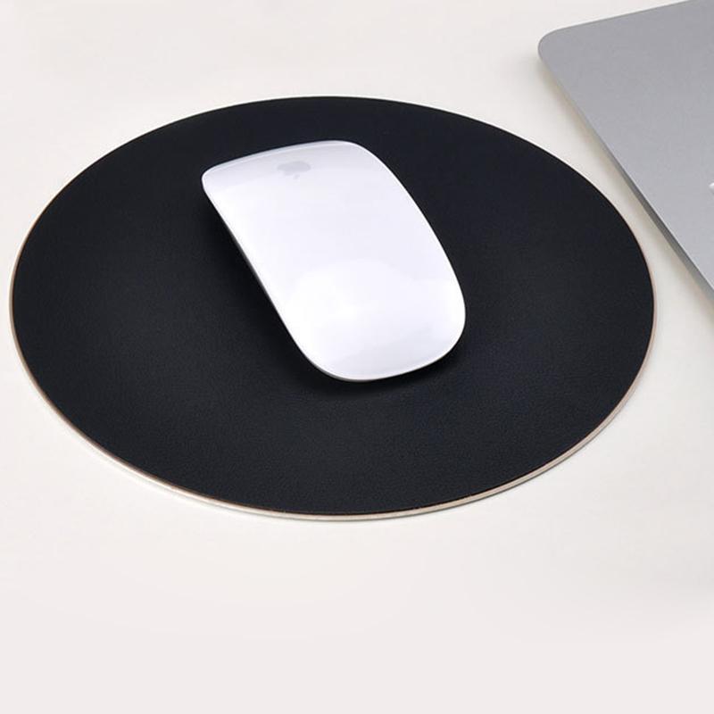 Giá Miếng lót chuột bằng hợp kim nhôm cao cấp - Thiết kế siêu mỏng trống trơn trượt (Đen)