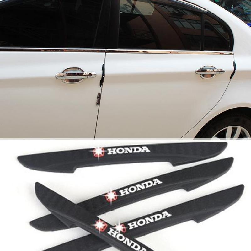 Bộ nẹp chống trầy và trang trí ngoài cửa xe HONDA