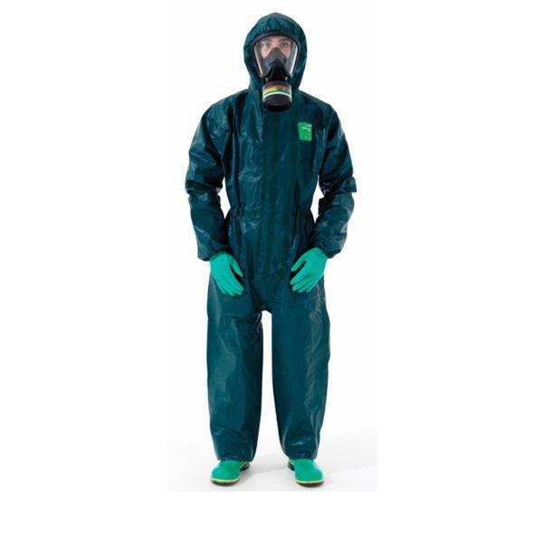 Quần Áo chống hóa chất MICROCHEM 4000 | quần áo bảo hộ sử dụng trong môi trường ô nhiễm, hóa chất phóng xạ | Bộ quần áo liền quần chống hóa chất