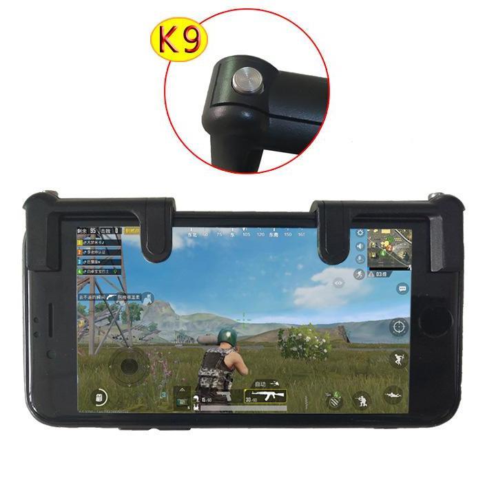 Hình ảnh Bộ 2 Nút Bấm Chơi Game PUBG Dòng K9 Hỗ Trợ Chơi Pubg Mobile, Ros Mobile Trên Mobile, Ipad