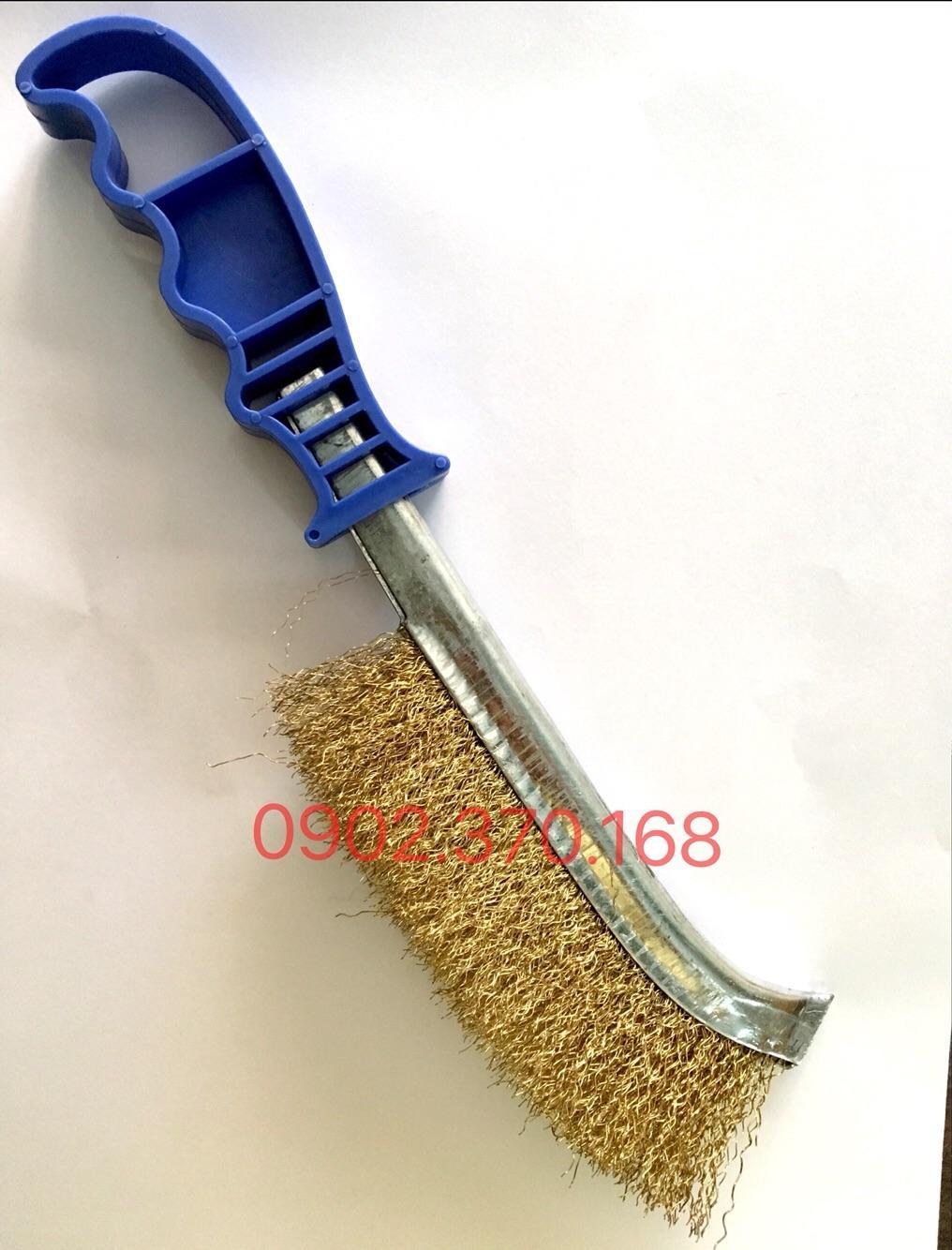 Bàn chải thép cán nhựa