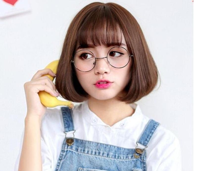 Tóc Giả nữ Cao Cấp Hàn Quốc s1001 (Tặng 1 lưới trùm tóc) nhập khẩu