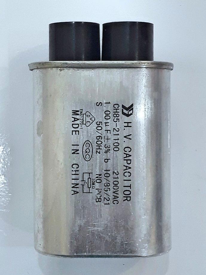 Hình ảnh Tụ điện CH85-21100 2100VAC 1.00mF+3% ( Dùng cho lò vi sóng)