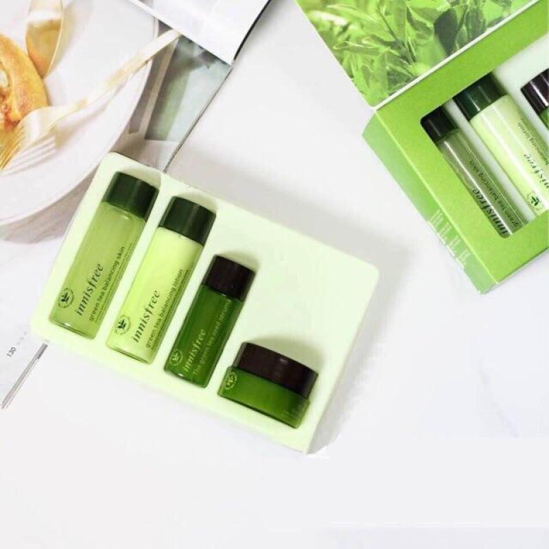 BỘ KIT 4 MÓN DƯỠNG DA TRÀ XANH INNISFREE GREEN TEA BALANCING SPECIAL