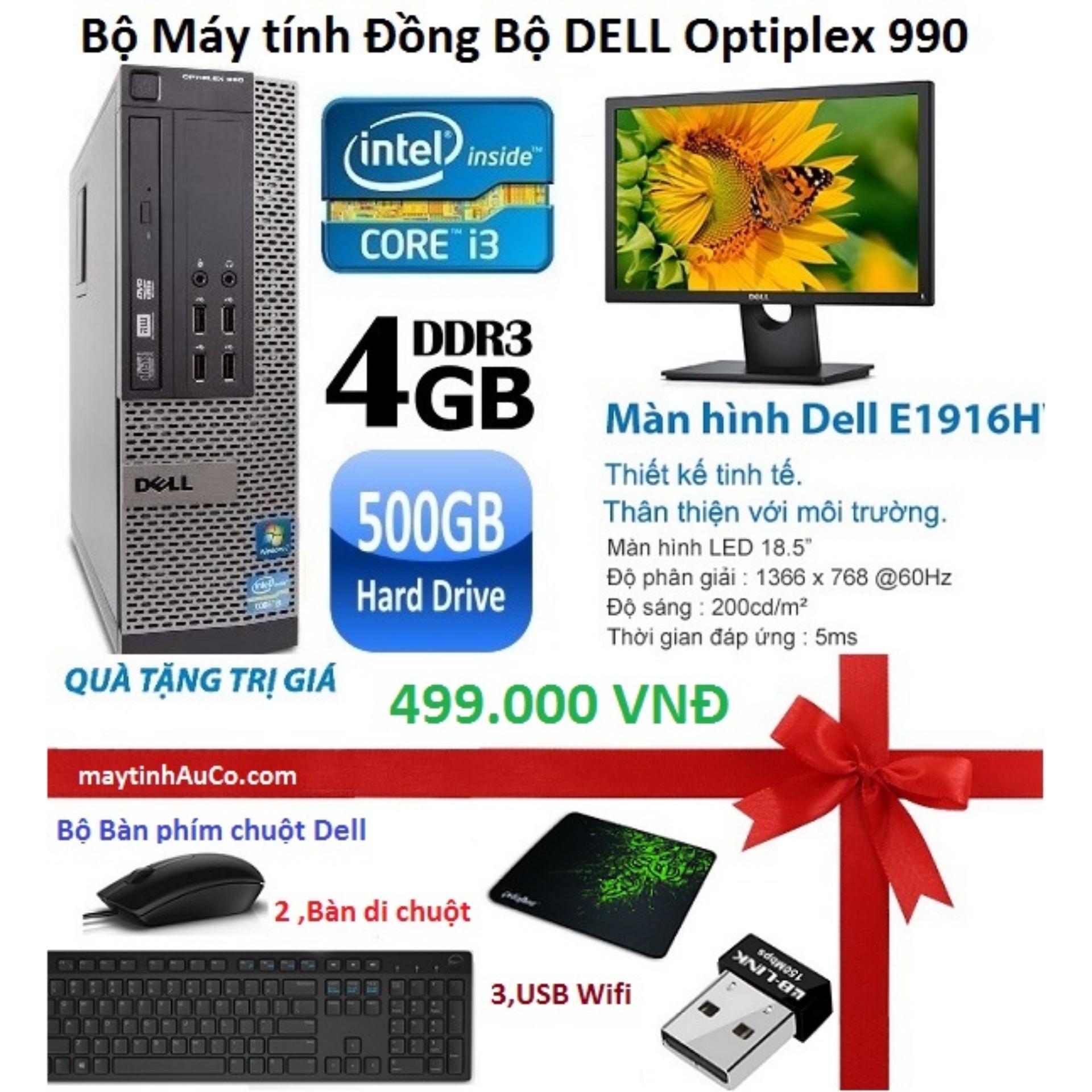 Bộ Máy Tính Đồng Bộ Dell Optiplex 990 ( Corei5 / 4g / 500g