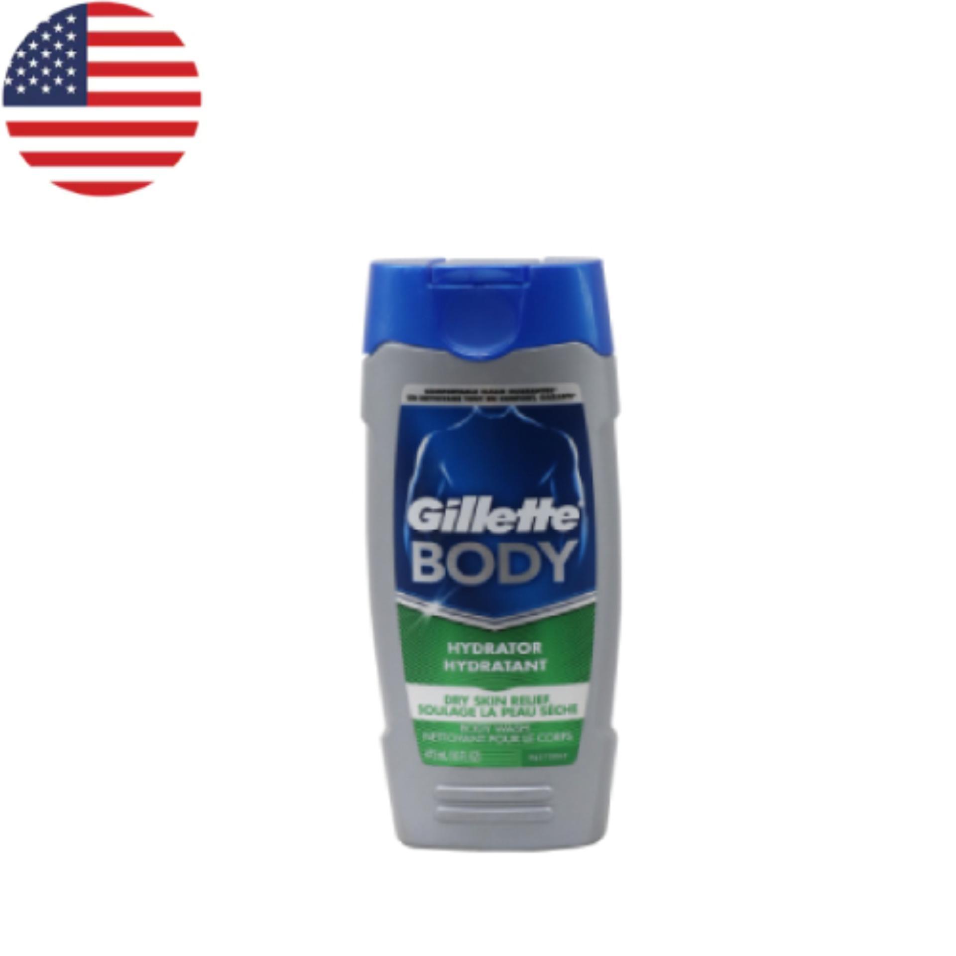 Hình ảnh Sữa tắm Gillete Day Skin Hydrating 473 ml - Nhập khẩu Mỹ