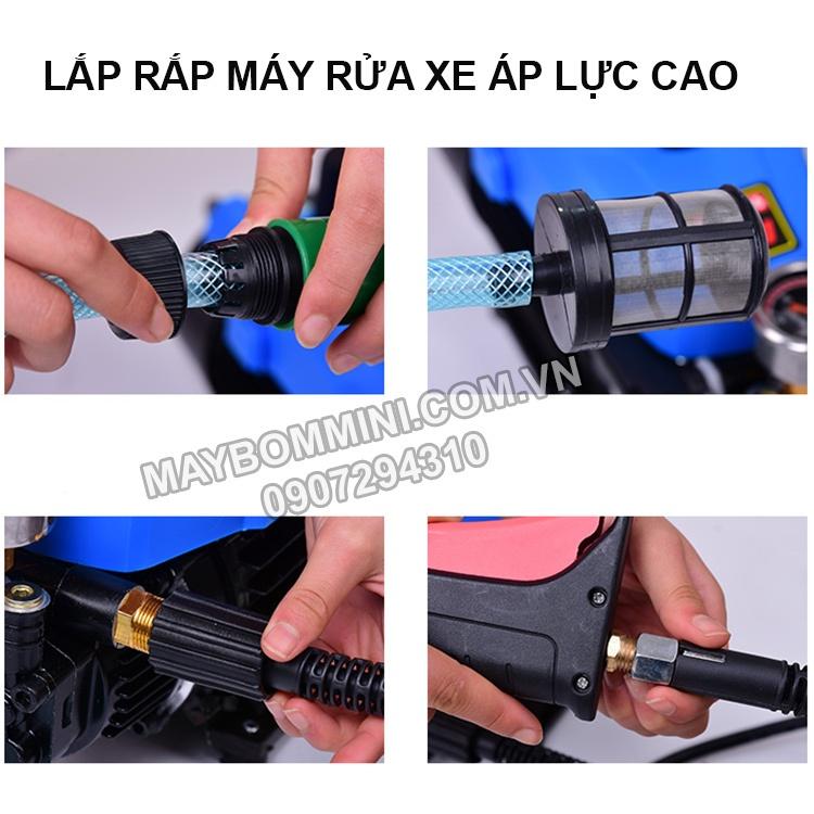 Huong Dan Lap Rap May Rua Xe Ap Luc Cao