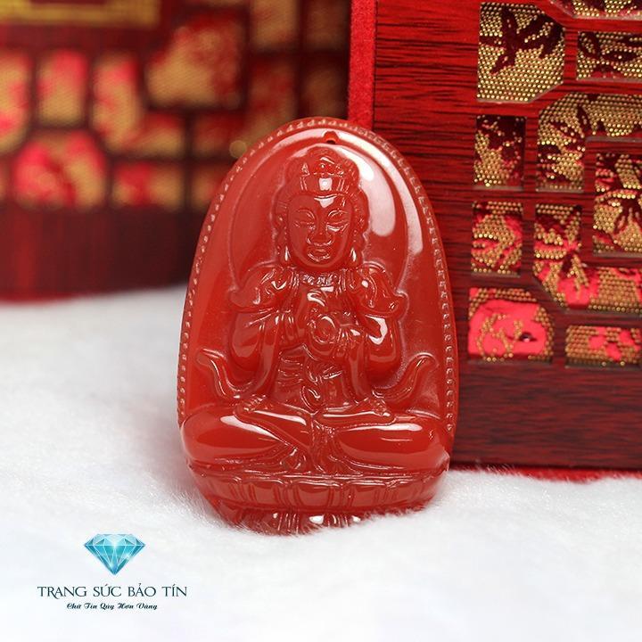 Mua Mặt Day Chuyền Phật Như Lai Đại Nhật Ma Nao Đỏ Phong Thủy Thương Hiệu Bảo Tin Trong Hà Nội
