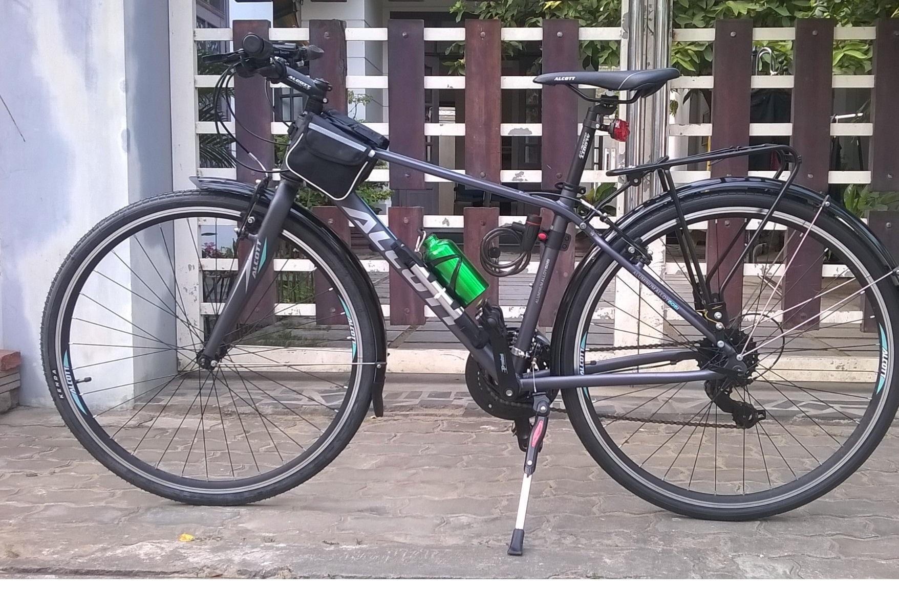 Alcott 700 xe đạp đường phố khung nhôm cao cấp
