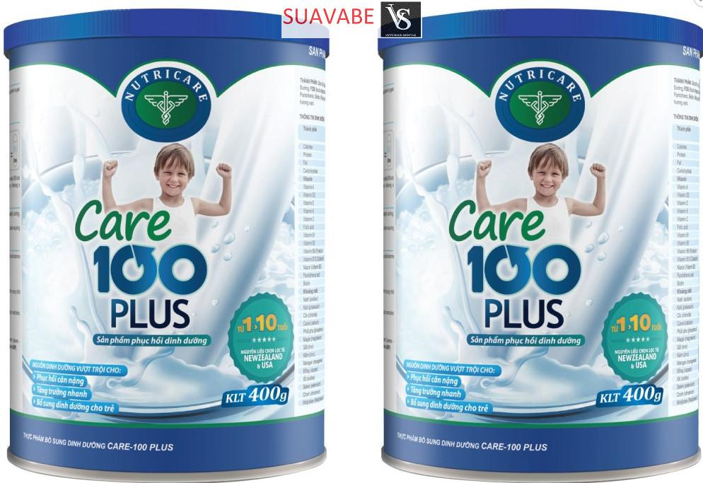 Bộ 2 Sữa Bột Nutricare Care 100 Plus 900G Nutricare Chiết Khấu 50