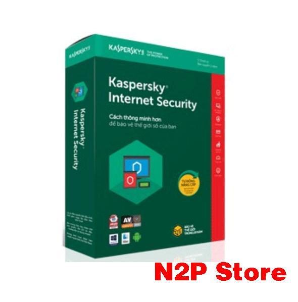 Hình ảnh Phần mềm Kaspersky Internet Security 1 máy tính 2018 (1PC/ 1 năm)