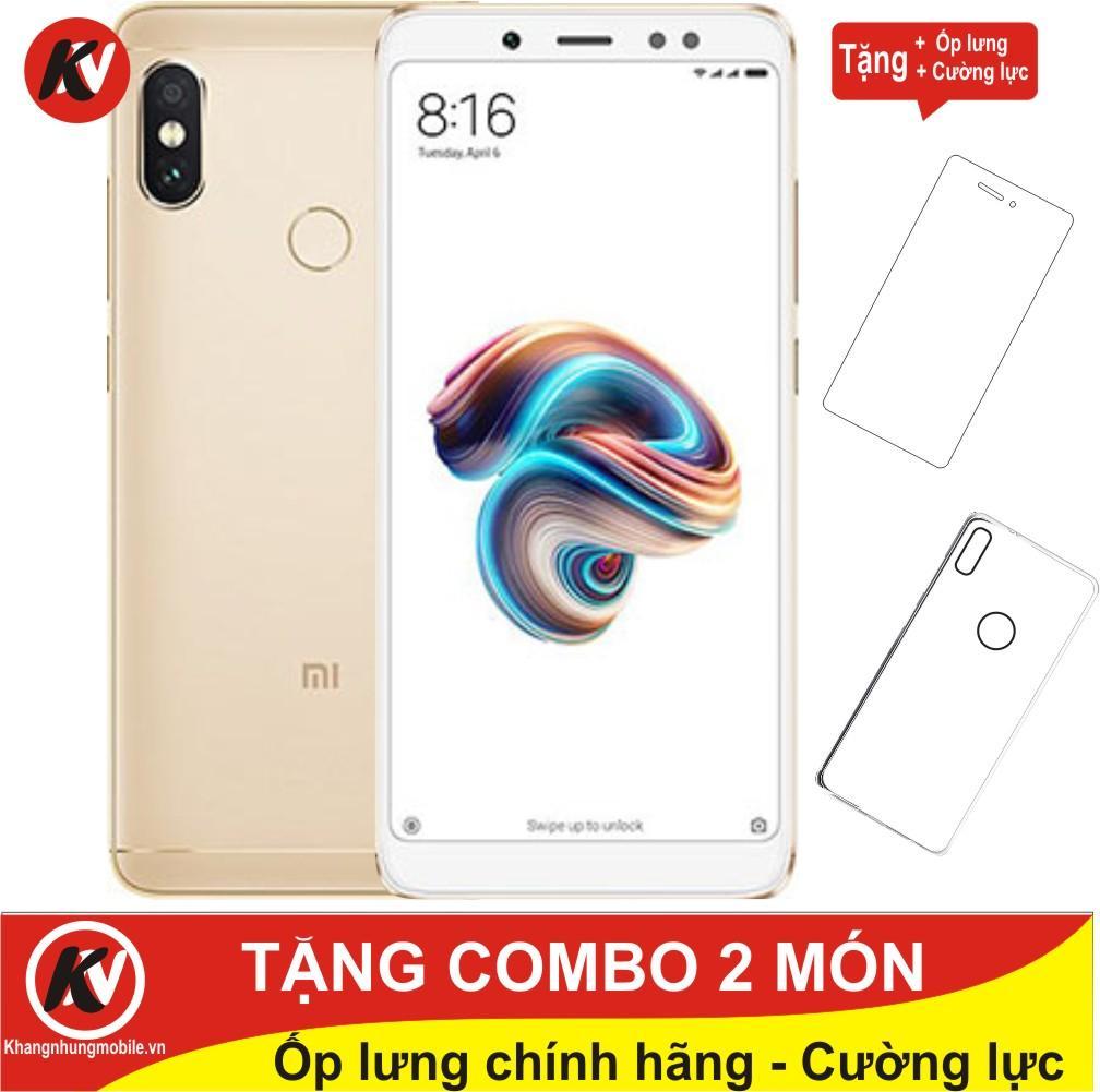Mua Xiaomi Redmi Note 5 Pro 32Gb Ram 3Gb Kim Nhung Vang Hang Nhập Khẩu Ốp Lưng Cường Lực Rẻ