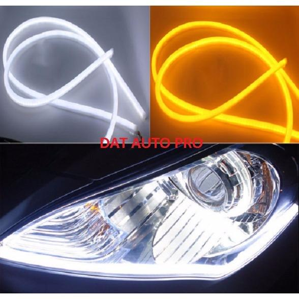 Bộ 2 Dây LED daylight+xinhan dùng cho đèn pha oto.